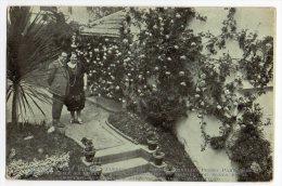 Ca 1900 Uruguay City Garden Contest Montevideo Concurso Jardines 1928  Roses  Vintage Original Postcard Cpa Ak (W4_119) - Uruguay