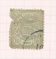 Luxembourg N°6 Côte 22.50 Euros - 1859-1880 Armarios