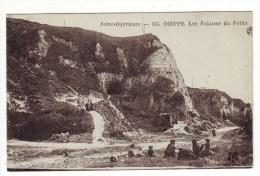 Cpa Dieppe Falaises Du Pollet - Dieppe