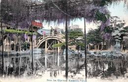Japan Sous Les Glycines Kameido Tokio - Franz.Frankierung 1914 - Tokyo