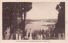 PC Constantinople - Cimetière D'Eyoub Et La Corne D'Or (5187) - Türkei