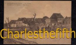 GUERRE 1914 - 1918 BOMBARDEMENT GAVERE - LE VILLAGE - HET DORP - BESCHIETING - Gavere