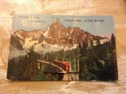 Cartes à Système Derrière Le Train Tu Trouveras Chamonix Mont Blanc - Chamonix-Mont-Blanc