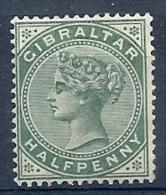 140013517  GIBRALTAR  YVERT  Nº  8  */MH  SIN GOMA - Gibraltar