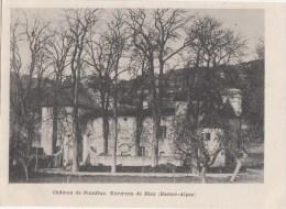 Riez Chateau De Pontfrac - Other Municipalities