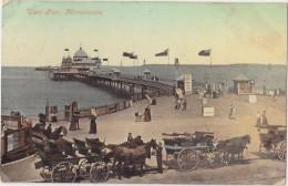 CPA Colorisée Animée - West Pier, MORECAMBE - 1907 - Sin Clasificación