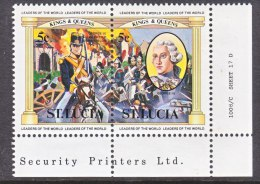 ST. LUCIA 633  ** - St.Lucia (1979-...)