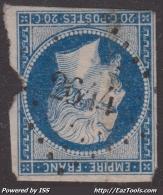 PC 2644 (Remilly, Moselle (55)), Cote 22.5€ - Marcophilie (Timbres Détachés)