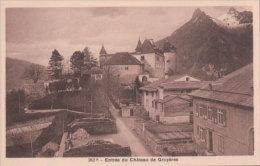 Gruyères, Entrée Du Château (262) - FR Fribourg