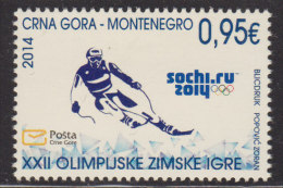 Montenegro, 2014, Sochi Winter Olympics, MNH (**) - Montenegro