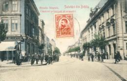 Romania / Roumanie - Salutàri Din Bràila - Stada Regelà - Centrul Principal Al Orasulni - 1909 ( To See Back ) - Rumania
