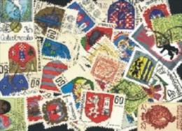 Motivmarken: 'Wappen - Heraldik' / Topical Stamps: 'Coat Of Arms - Heraldry' Oo / Used - Briefmarken