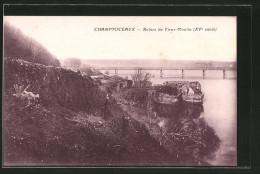 CPA Champtoceau, Ruines Du Vieux-Moulin, XVe Siecle - Francia