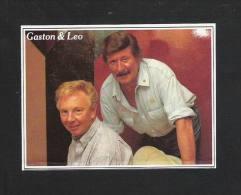 GASTON & LEO (S 2049) - Autocollants
