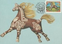 Ciskei 1987 Horse Toy, Maximum Card - Ciskei
