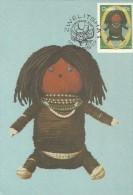 Ciskei 1987 Toys, Doll, Maximum Card - Ciskei