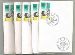1955/7  Petite Enveloppe  Obl Premier Jour  BXL(2)  Koksijde  St Nicolas  Spa - Unclassified