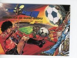 Guinée Bissau 1982-Coupe Du Monde De Foot Espagne-ESPACE-MI B222B***MNH-NON Dentelé - 1982 – Espagne