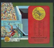 Mua849 SPORT OLYMPISCHE SPELEN WRESTLING OLYMPIC GAMES LOS ANGELES POSTZEGELS STAMPS LAOS 1984 PF/MNH - Summer 1984: Los Angeles