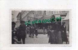 87 - LIMOGES - PHOTO ORIGINALE RUE ADRIEN DUBOUCHE - A DROITE RUE CERVIERES- ANNEES 1925-30 - Photos
