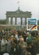 Germany 1990 Brandenburfg Gate, Maximum Card - [7] Federal Republic