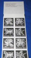 Iceland - 1988 National Symbols Booklet MNH__(FIL-15629) - Carnets
