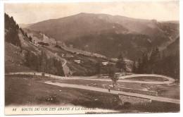 § PROMO § 73 - Route Du Col Des Aravis à La Giettaz Animée écrite Timbrée - France