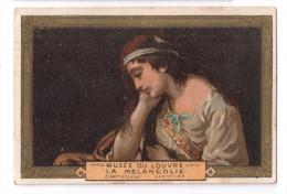 """IMAGES, MUSEE DU LOUVRE : """"La Mélancolie"""" - Vieux Papiers"""