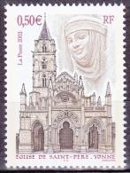 Timbre-poste Neuf** - Église De Saint-Père (Yonne) - 3586 (Yvert) - France 2003 - France