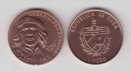 MD2341 CUBA UNC  1$ COPPER ERNESTO CHE GUEVARA KUBA - Cuba