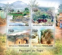 TOGO 2011 - Togo (Atakora) Mountains - YT 2724-7; CV = 17 € - Vulkane