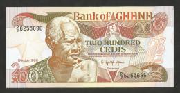 [NC] GHANA - BANK Of GHANA - 200 CEDIS (1990) - Ghana