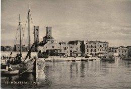 MOLFETTA (Bari) -F/G   B/N Cartonata (200310) - Molfetta