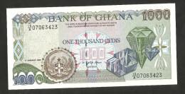 [NC] GHANA - BANK Of GHANA - 1000 CEDIS (1995) - Ghana