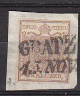 PGL CC141 - OSTERREICH AUSTRIA Yv N°4  GRATZ - Usati