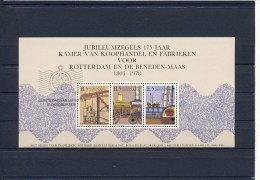 Erinnofilie: Vel Jubileumzegels 175 Jaar KvK Rotterdam - Erinnofilie