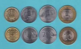INDIA   Set/Tira  4 Monedas/Coins   SC/UNC     DL-9577 - India