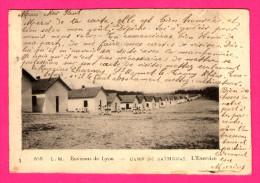 Environs De Lyon - Camp De Sathonay - L'Exercice - Animée - L.M. - 1903 - Manoeuvres