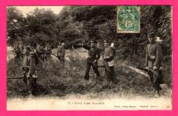 Envoi D'une Patrouille - Animée - Photo SAINT-BLAISE - Manoeuvres
