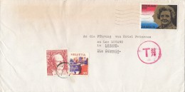 STAMPS ON COVER, NICE FRANKING, 1979, NETHERLAND, SWITZERLAND - Period 1949-1980 (Juliana)