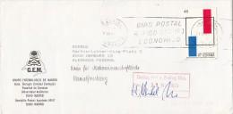 STAMPS ON COVER, NICE FRANKING, 1989, SPAIN - 1931-Hoy: 2ª República - ... Juan Carlos I