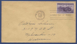 USA UNITED STATES OF AMERICA POSTAL USED FDC FIRST DAY COVER 1944 CONDITION AS PER SCAN - Vereinigte Staaten
