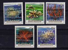 Cook Islands - 1986 - Officials/Corals (Issued 05/05/86) - MNH - Cook