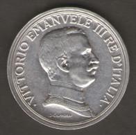ITALIA 2 LIRE 1915 VITTORIO EMANUELE III AG SILVER - 1861-1946 : Regno