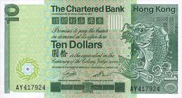 Hong Kong 10 Dollars 1981 Pick 77 UNC - Hong Kong