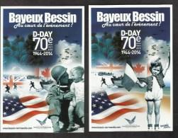 BAYEUX BESSIN DEBARQUEMENT EN NORMANDIE 1939 1945 D DAY  JOUR J CALVADOS 70 Eme ANNIVERSAIRE - 1939-45