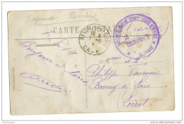 Maroc Figuig Palmeraie Cachet Infanterie Légère Afrique - Autres