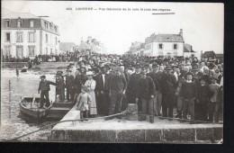 29 - LOCTUDY - VUE GENERALE DE LA CALE LE JOUR DES REGATES - Loctudy