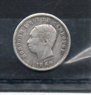 Cambodge. 50 Centimes 1860. - Cambodia