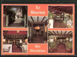 """CPA Ivry-la-Bataille, Bar-Discothéque """"Le Bourbon"""" - Ivry-la-Bataille"""